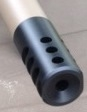 Muzzle Brake .308 (30 Cal) (3/4 x 24 TPI) BLACK-  ONLY 1 AVAIL